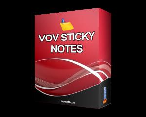 VovSoft Vov Sticky Notes Crack 7.1 + Activation Key Download 2021